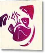 Pug The Dog Metal Print