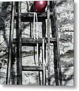 Red Balloon Metal Print by Joana Kruse