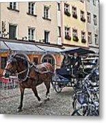 Regensburg Germany Metal Print