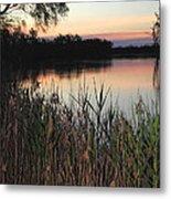 River Murray Sunset Series 1 Metal Print