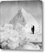 Roald Amundsen (1872-1928) Metal Print