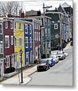Saint John's. Newfoundland. Metal Print