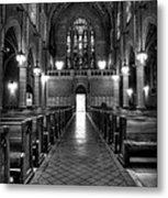 Saint Marks Episcopal Cathedral Metal Print