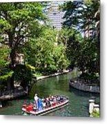 San Antonio Riverwalk Metal Print