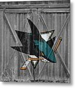 San Jose Sharks Metal Print