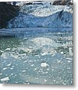 Scenic View Of Stairway Glacier R Metal Print