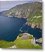 Slieve League Cliffs, Ireland Metal Print