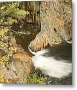 Smalls Falls In Western Maine Metal Print