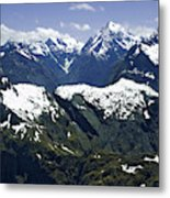 South Pacific, New Zealand, South Island Metal Print