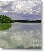 4-summer Time At Moraine View State Park Metal Print