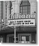 Terre Haute - Indiana Theater Metal Print