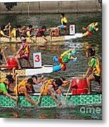 The 2013 Dragon Boat Festival In Kaohsiung Taiwan Metal Print