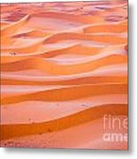 The Beautiful Silence Of The Sahara Desert Metal Print