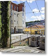 The Lavra Funicular Metal Print