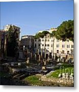 The Sacred Area Of Largo Argentina Metal Print