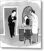 New Yorker September 24th, 2007 Metal Print