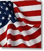 USA Metal Print by Les Cunliffe