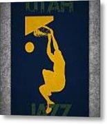 Utah Jazz Metal Print