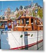 Victoria Wooden Boat Show Metal Print