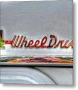 4 Wheel Drive Metal Print