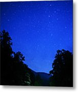 Williams River Summer Solstice Night Metal Print by Thomas R Fletcher