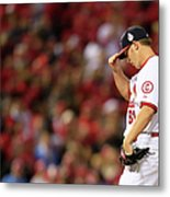 World Series - Boston Red Sox V St Metal Print