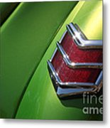 40 Ford - Tail Light-8531 Metal Print