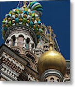 Russia, Saint Petersburg, Center Metal Print