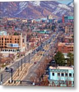 400 S Salt Lake City Metal Print