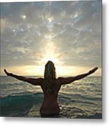 4008 Birth Of A New Day  Metal Print