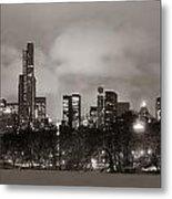 Central Park Winter Metal Print