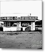 41 Drive In-manchester Tennessee Metal Print by   Joe Beasley