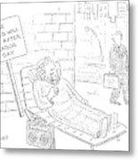 New Yorker September 4th, 2006 Metal Print