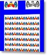 42 Crab Mac Claws Metal Print