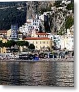 Views From The Amalfi Coast In Italy Metal Print