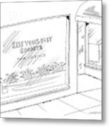 New Yorker August 7th, 2006 Metal Print