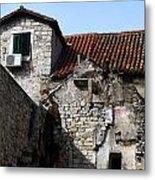 Views Of Split Croatia Metal Print