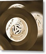 45 Rpm Records Metal Print