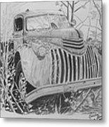 46 Chevy Treasure Metal Print