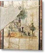 Naples Archeological Museum Roman Art Metal Print