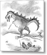 This Is A Minor Setback. The Hunter-gatherer Metal Print