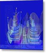 461 - City Of Future 2 .... Metal Print