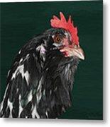 47. Bearded Hen Metal Print
