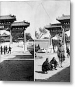 China Boxer Rebellion Metal Print