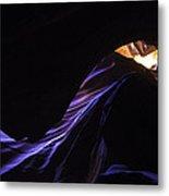 #4729  Amber Blues Metal Print