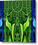 479 - Secret Dwellers In The Woods Metal Print