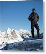 Mountaineering Metal Print
