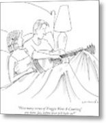 How Many Verses Of 'froggie Went A-courting' Metal Print