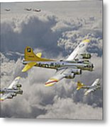 487th Bomb Group Metal Print