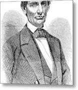 Abraham Lincoln (1809-1865) Metal Print